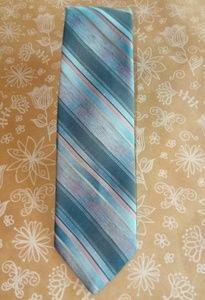 Mervyn's Gray Stripe Tie